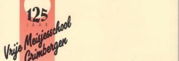 1993 – Viering 125 jaar Vrije Meisjesschool.
