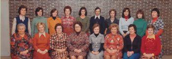 1970 – 1985 Directie Hanssens Yvonne en nieuw schoolcomité.
