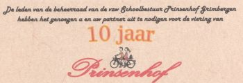 2010 – Prinsenhof 10 jaar.