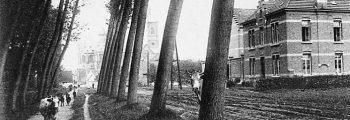 1915 – Bouw zustershuis en klaslokalen Prinsenstraat.