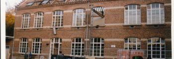 1999 – Verbouwingswerken aan de school.